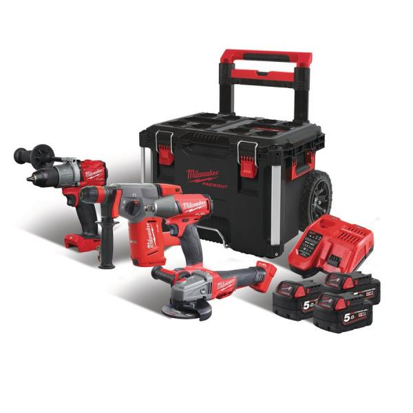 Набор инструментов MILWAUKEE M18 FPP4A-503P 4933471148