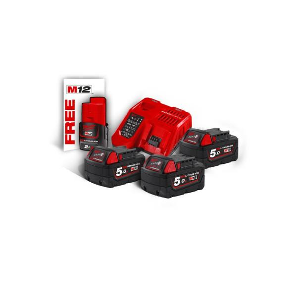 Набор MILWAUKEE M18 NRG-503 4933451423