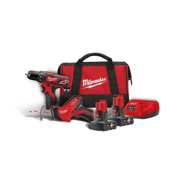 Набор инструментов MILWAUKEE M12 ВPP2В-402В 4933441230