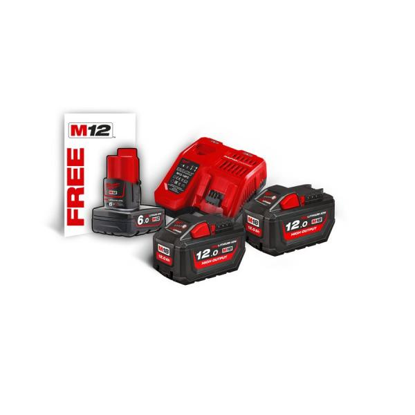 Энергокомплект MILWAUKEE M18 NRG-122 (Li-Ion12Ач) 4933464261