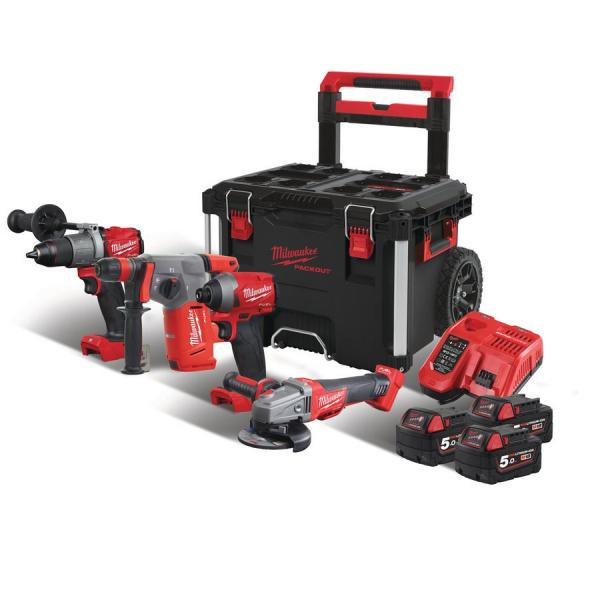 Набор инструментов MILWAUKEE M18 FPP4B-503P 4933471149