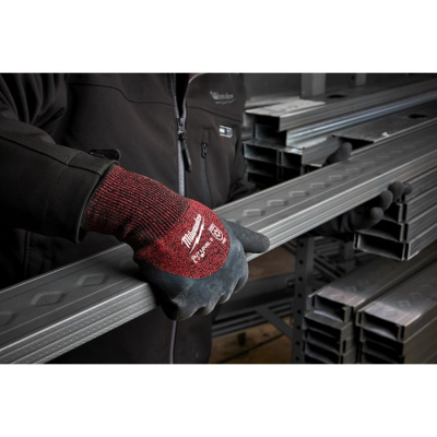 Milwaukee 4932471611 12 PACK WINTER CUT LEVEL 3 GLOVES-L/9