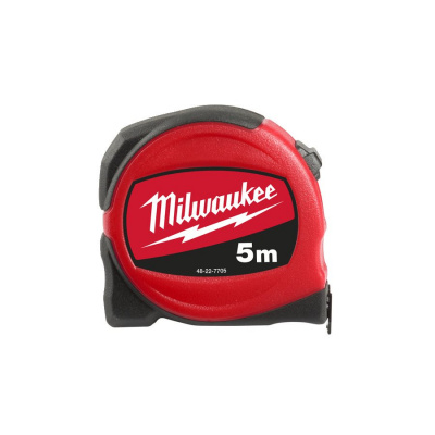 Рулетка MILWAUKEE SLIM 5 м / ширина 19 мм 48227705